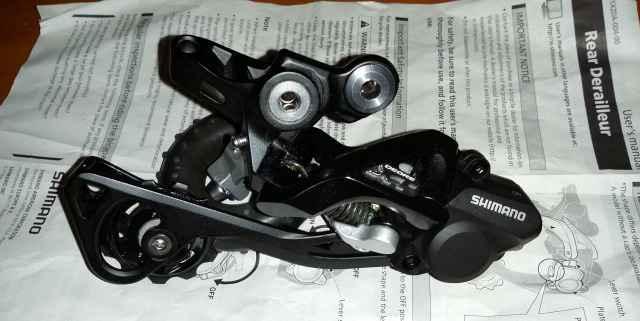 Новый задний перекл.ShimanoXT M786 SGS 10скр