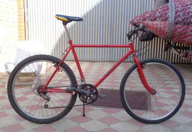 Велосипед горный merida