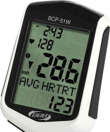 Велокомпьютер с пульсометромbbb DigiBoard BCP-51WH