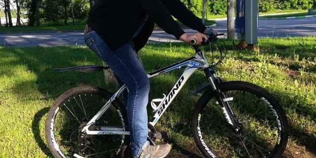 Горный велосипед 27 гидравлический тормоз