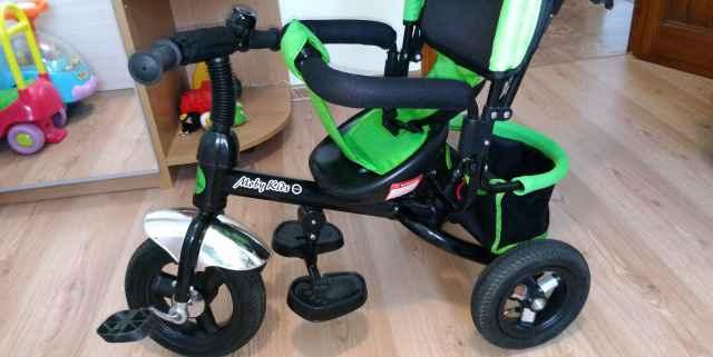 Детский трехколесный велосипед Moby Kids Комфорт