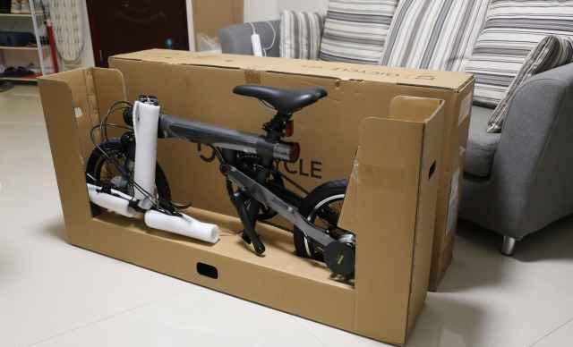 Xiaomi Mi Qicycle 20 км-Ч Складная рама