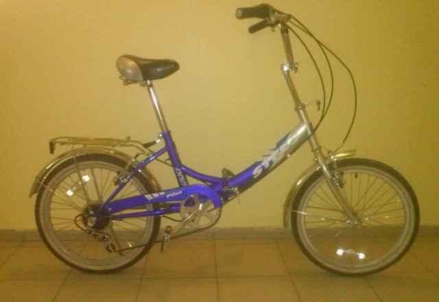 Велосипед Стелс Пилот 450 складной