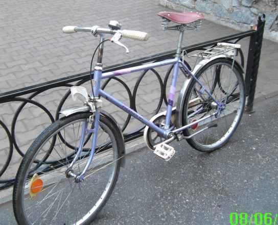 Финский ретро-велосипед Хелькама