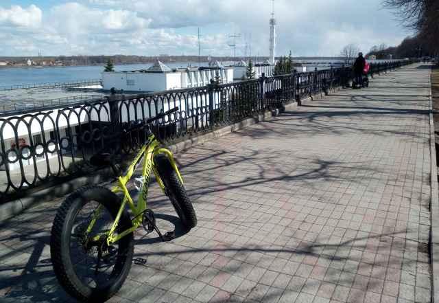 Велосипед-вездеход. Фэтбайк