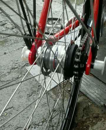 Велосипед Bergamont Германия как новый 7 передач
