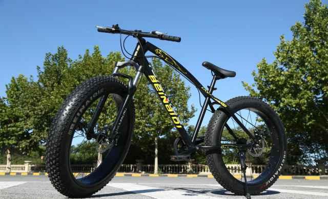 Велосипед-Фэтбайк. Велосипед на толстых колесах