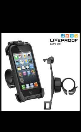 Велосипедный держатель LifeProof Байк для iPhone 5