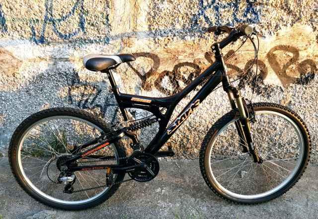 Велосипед Stark Стингер двухподвесный