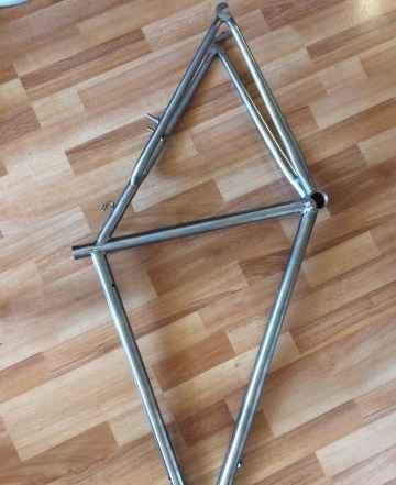 Рама титановая велосипедная