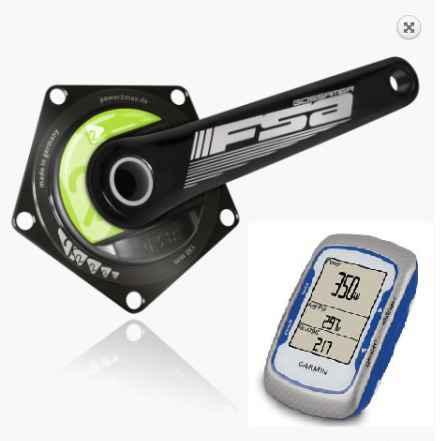 Измеритель мощности Power2max + Garmin Эдже 500