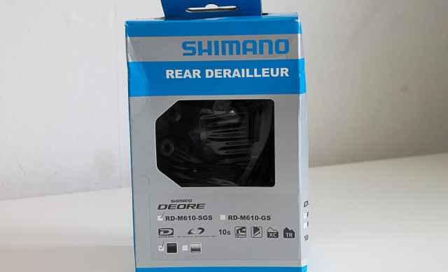 Задний переключатель Shimano Deore RD-M610