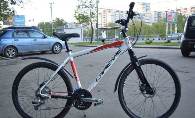 Велосипед lapierre Райд 500 (2015 г.). Вес: 13 кг