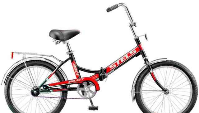 Новый складной велосипед Стелс Пилот 410