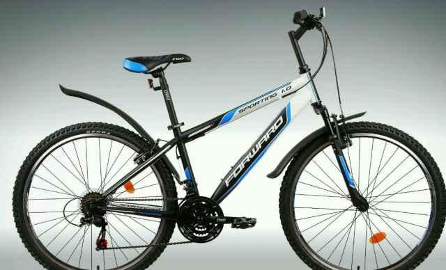 Велосипед Форвард Sporting 1.0 + велокомпьютер