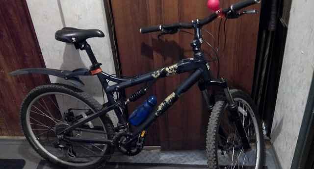 горный велосипед двухподвес мангуст отеро