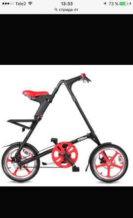 Велосипед Стрида LT