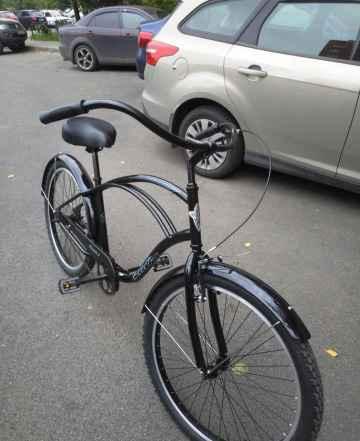Велосипед Электра Крузер 1 черный новый