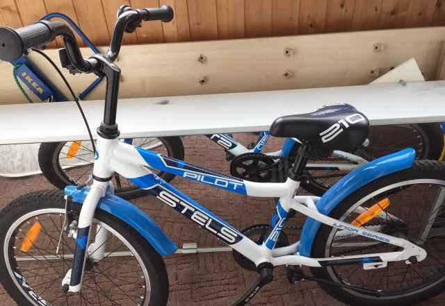 Велосипед подростковый Стелс Пилот boy 210 (2016)