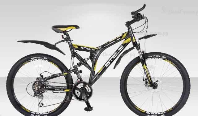 Горный велосипед Стелс Адреналин disc