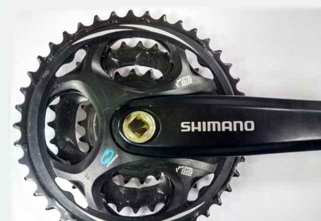 Правый шатун системы Shimano M311 8sp 170 мм