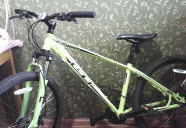 Велосипед MTB aggressor disc gloss green