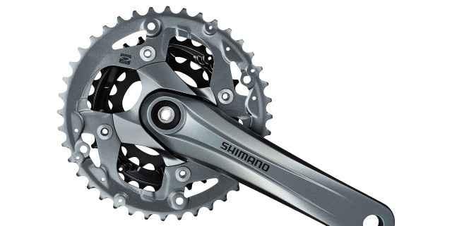 Система Shimano Alivio FC-M4000 Octalink 40-30-22