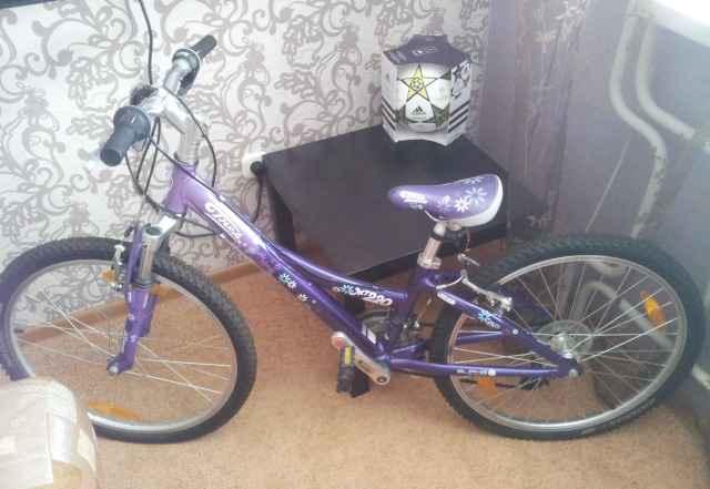 Велосипед для девочки Трек MT220 от 125 см