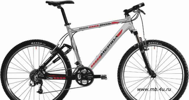 Велосипед двухподвес Merida Mission спит