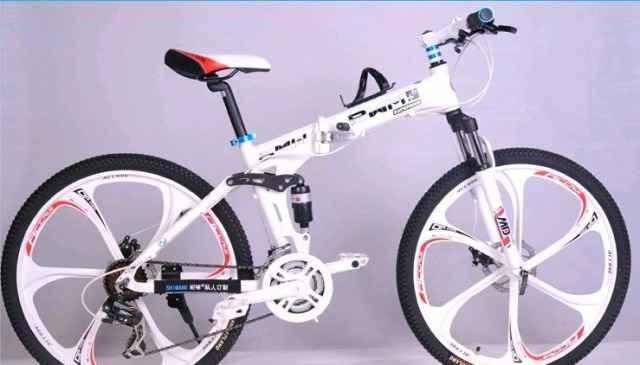 """Велосипед складной 26"""" литые колёса новый"""