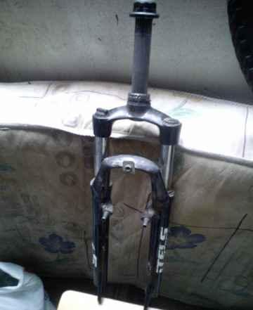 Переднее и заднее колесо и вилка