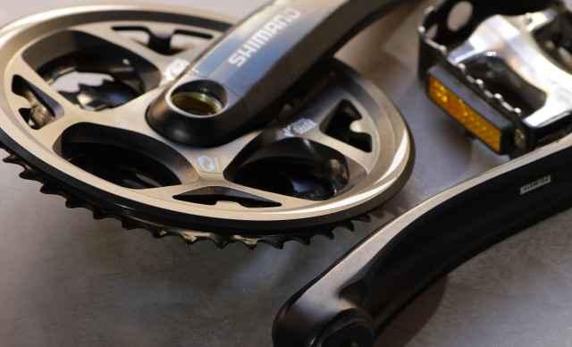 Система Shimano Acera с кареткой