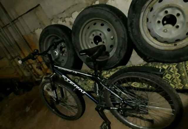 Велосипед стёрн 2015 года не бит, поменено заднее