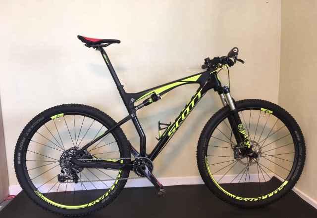 Горный велосипед scott Спарк 900 RC 2016,размер XL