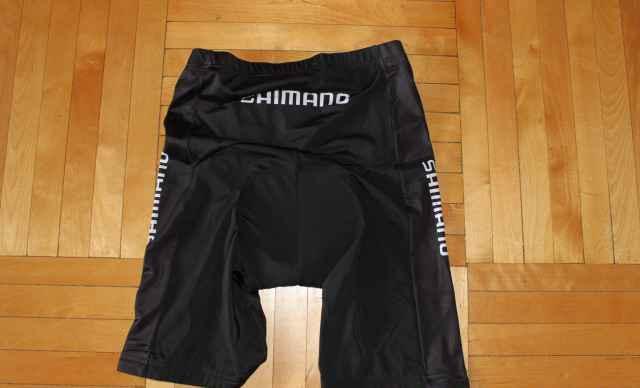 Велошорты Shimano с памперсом, новые