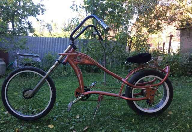 Лоурайдер велосипед байк чоппер кастом круизер