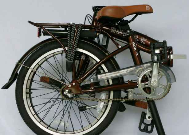 Велосипед складной Shulz Goa3 braun