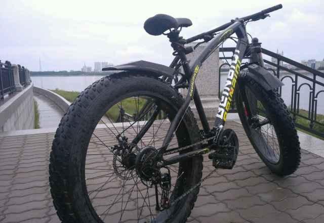 Велосипед фэтбайк - Фото #1