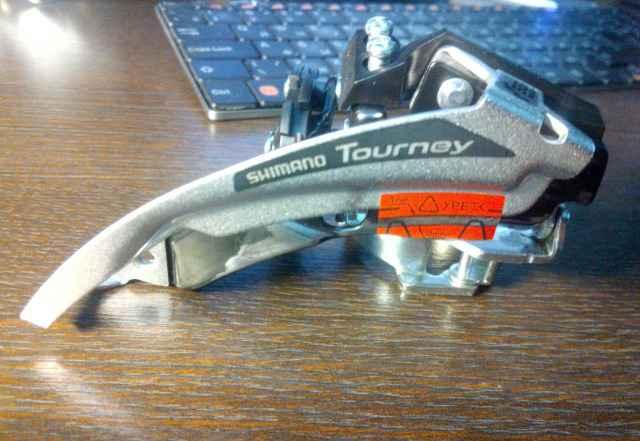 Передний переключатель shimano tourney FD-TX50