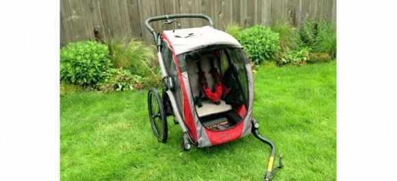 Велоприцеп baby jogger pod