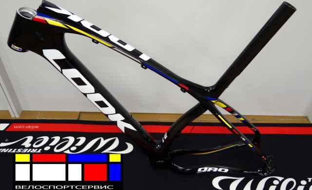 Велосипедная рама look 989 (мтб)