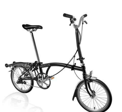 Складной велосипед Brompton H3R блэк,блак