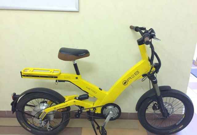 Электровелосипед Ультра Мотор модель A2B Метро