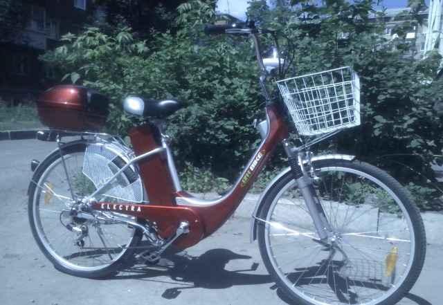 Электрический велосипед Иж,Izh-Байк