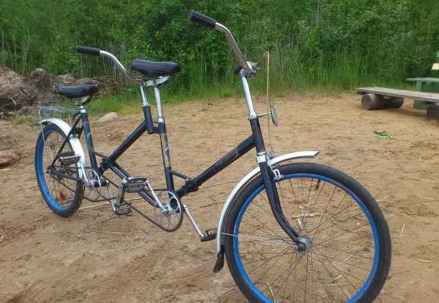 велосипед тандем салют фото муниципальный пляж