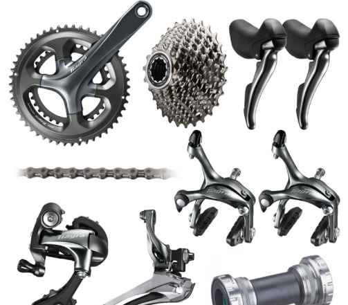Shimano, Campagnolo,Selle SMP, компоненты