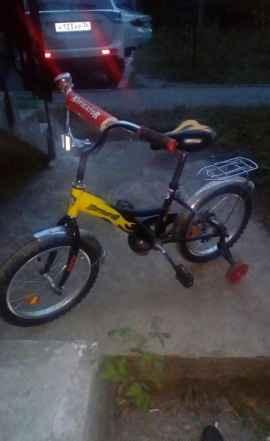Новый детский велосипед, куплен летом 2017