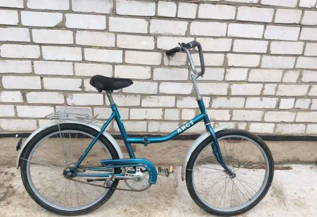 Велосипед Аист (типа Салют) складной с багажником