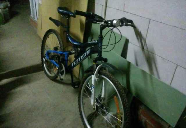 Велосипед с дисковыми тормозами totem Шторм