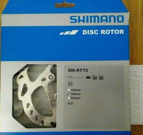 Ротор Shimano СЛХ RT70 M7000